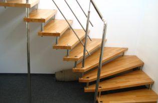 ограждение лестницы №8